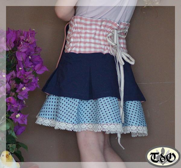 Patrons pochette enfant fille jupe marguerite patron de couture pour enfants terre d - Patron jupe elastique fille ...